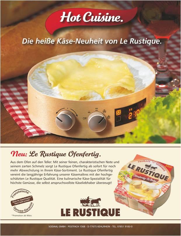 Le Rustique Produktanzeige: Hot Cuisine - Uwe Groß (Konzept/Text)