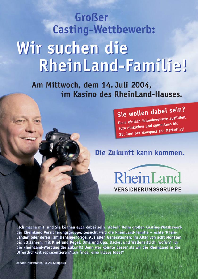 Rheinland Castingposter: Fotograf
