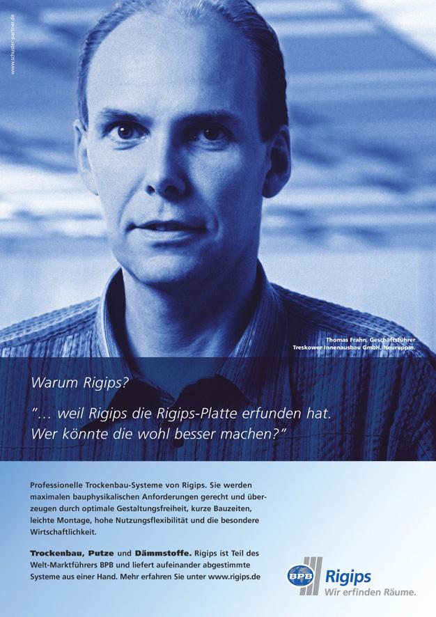 Rigips Imageanzeige: Das Original - Uwe Groß (Konzept/Text)