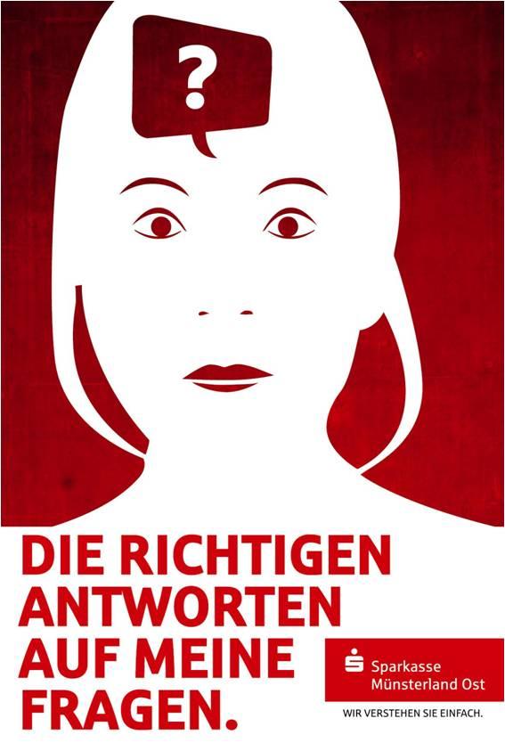 Sparkasse Imageanzeige: Fragen - Uwe Groß (Konzept/Text)