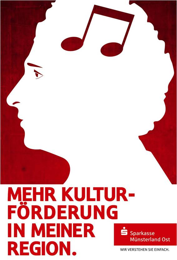 Sparkasse Imageanzeige: Kultur - Uwe Groß (Konzept/Text)