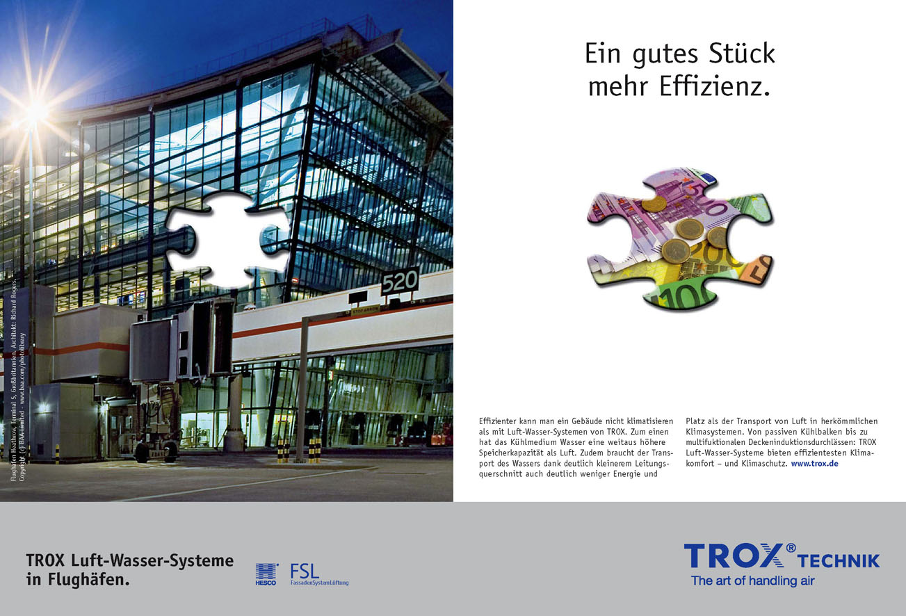 Trox Imageanzeige: Effizienz- Uwe Groß (Konzept/Text)