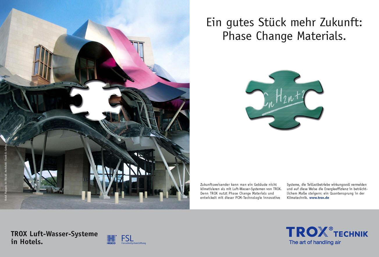 Trox Imageanzeige: Innovation - Uwe Groß (Konzept/Text)