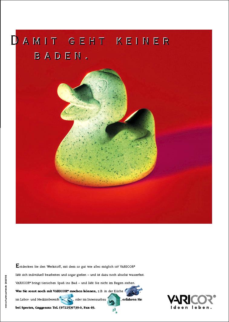Varicor Anwendungsanzeige: Bad- Uwe Groß (Konzept/Text)