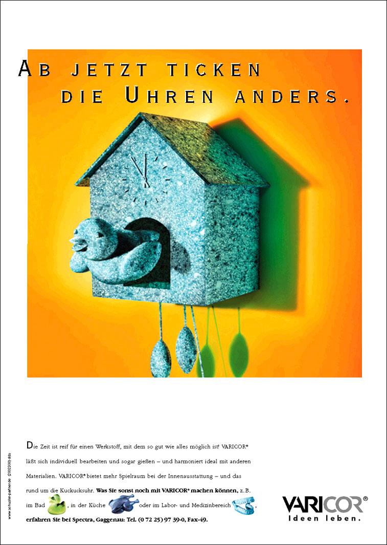 Varicor Anwendungsanzeige: Innenausbau - Uwe Groß (Konzept/Text)