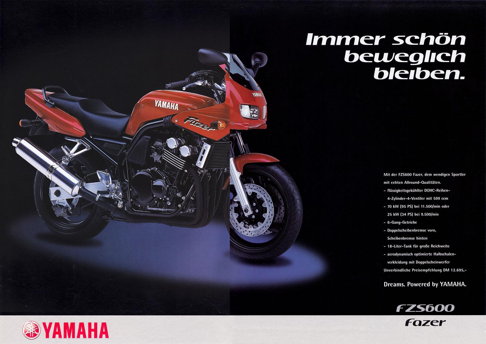 Yamaha Beileger - Immer schön beweglich bleiben