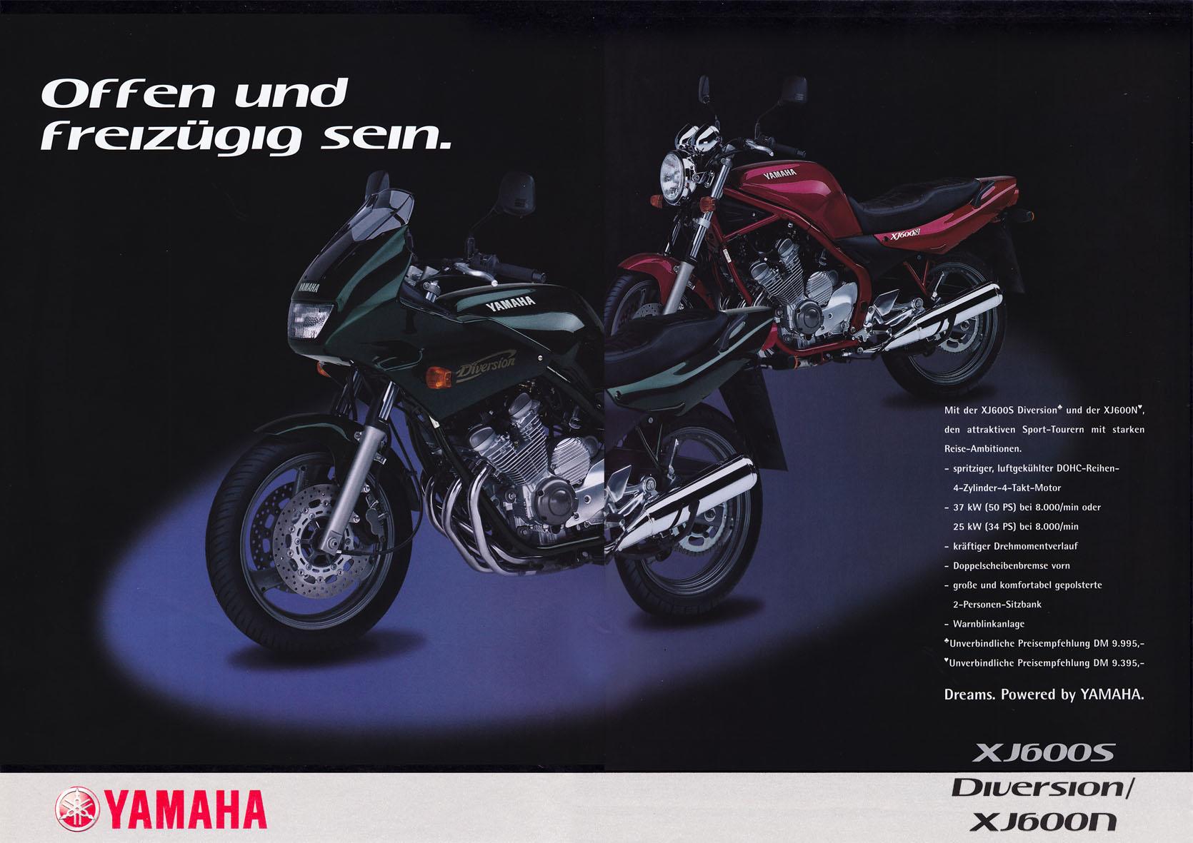 Yamaha Beileger - Offen und freizügig sein