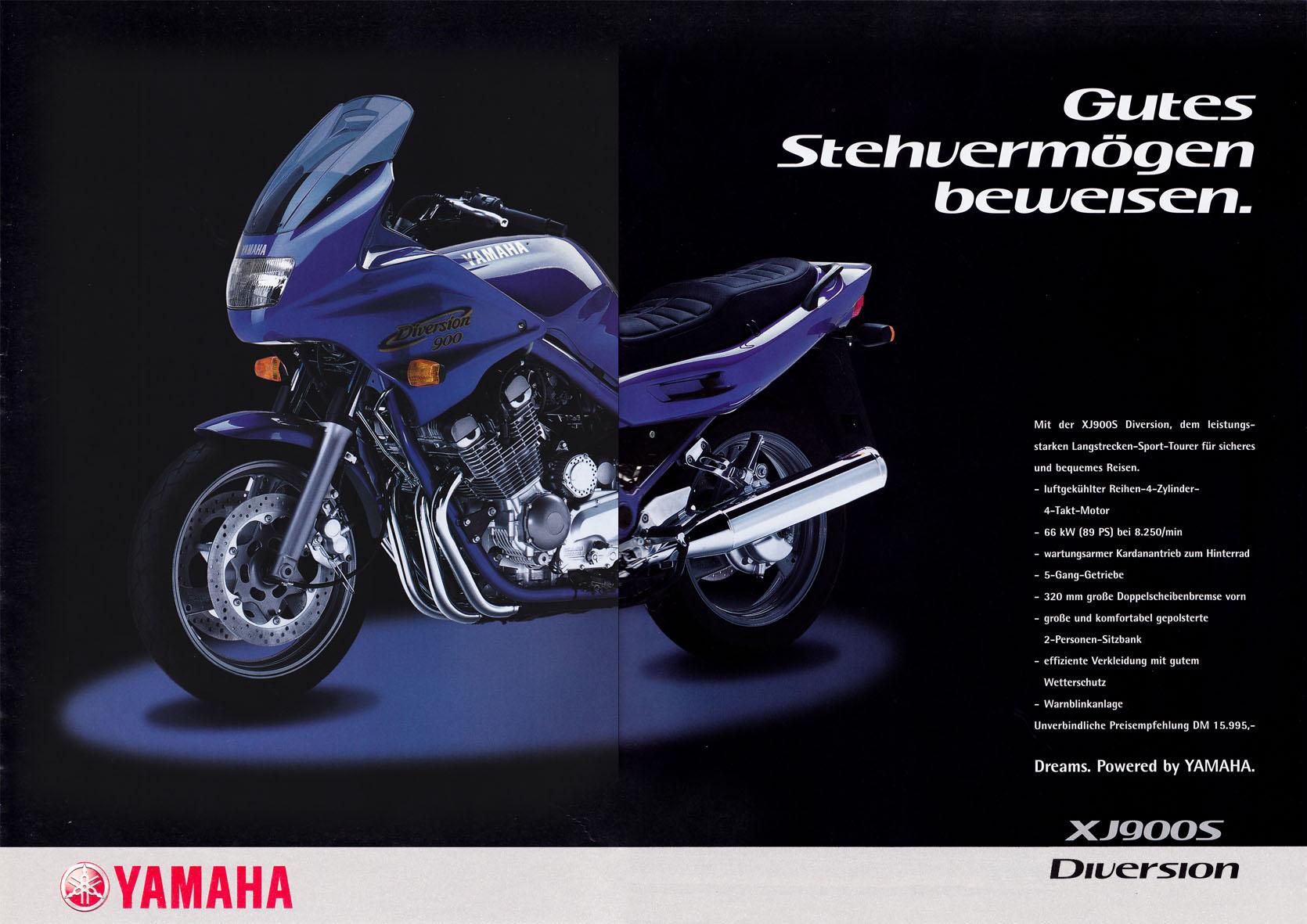 Yamaha Beileger - Gutes Stehvermögen beweisen