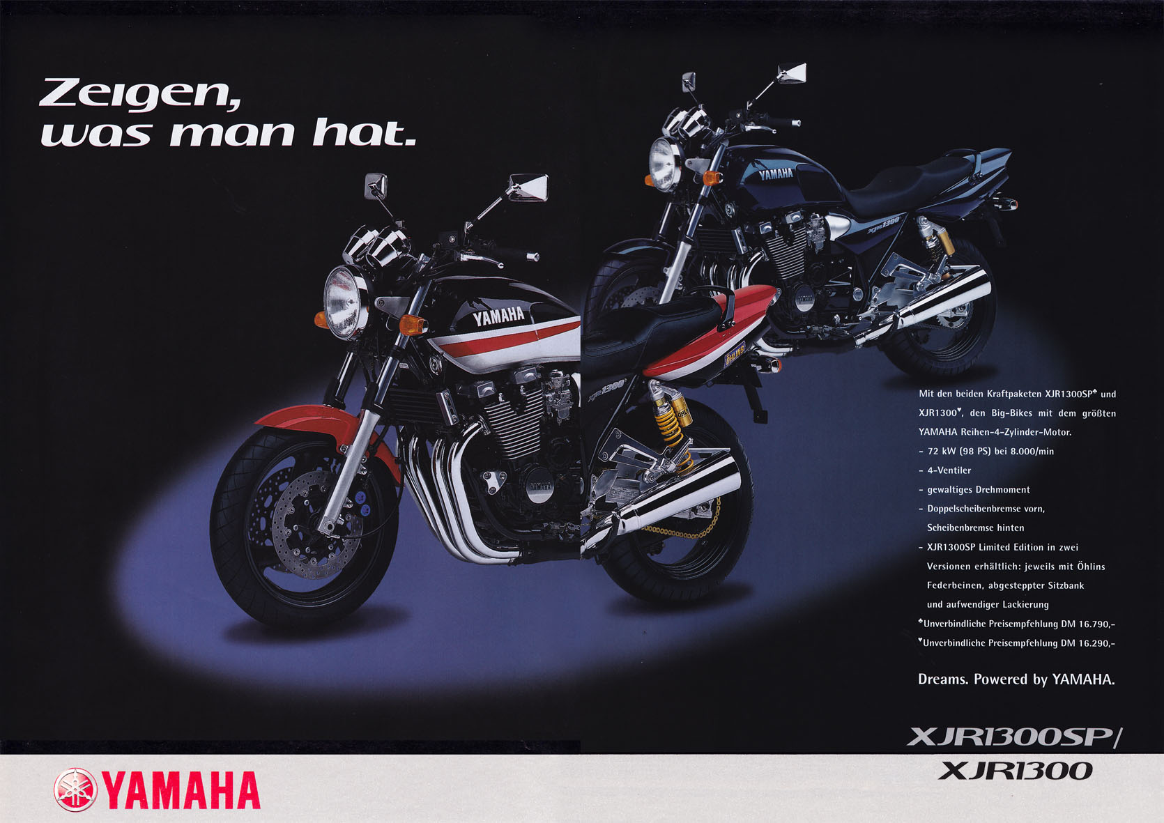 Yamaha Beileger - Zeigen, was man hat