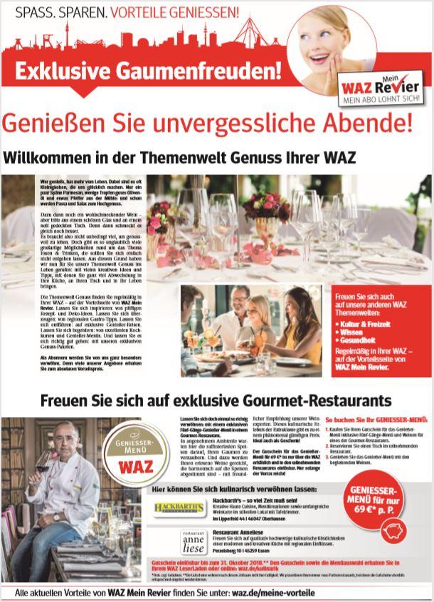 Advertorial Funke Mediengruppe Genuss