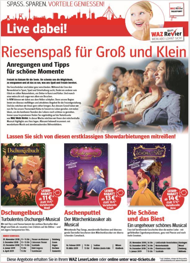 Advertorial Funke Mediengruppe Kultur und Freizeit